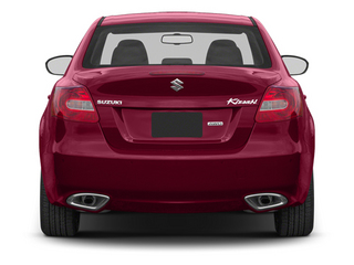 2013 Suzuki Kizashi Pictures Kizashi Sedan 4D photos rear view