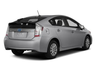 2013 Toyota Prius Plug-In Pictures Prius Plug-In Liftback 5D Plug-In Advanced Hybrid photos side rear view