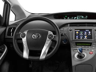 2013 Toyota Prius Plug-In Pictures Prius Plug-In Liftback 5D Plug-In Advanced Hybrid photos driver's dashboard