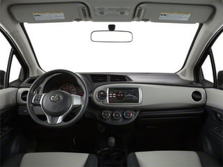 2013 Toyota Yaris Pictures Yaris Hatchback 5D LE I4 photos full dashboard