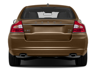 2013 Volvo S80 Pictures S80 Sedan 4D I6 photos rear view