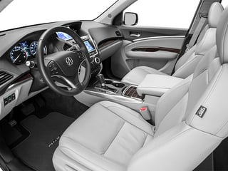 2014 Acura MDX Pictures MDX Utility 4D Advance DVD 2WD V6 photos full dashboard