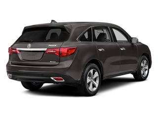 2014 Acura MDX Pictures MDX Utility 4D 2WD V6 photos side rear view