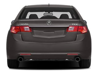 2014 Acura TSX Pictures TSX Sedan 4D I4 photos rear view