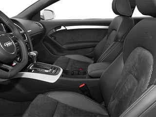 2014 Audi A5 Pictures A5 Coupe 2D Prestige AWD photos front seat interior