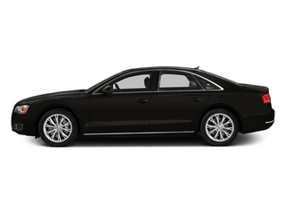 2014 Audi A8 Pictures A8 Sedan 4D 4.0T AWD V8 Turbo photos side view