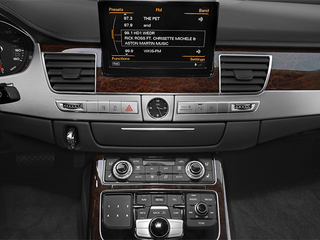 2014 Audi A8 Pictures A8 Sedan 4D 4.0T AWD V8 Turbo photos stereo system