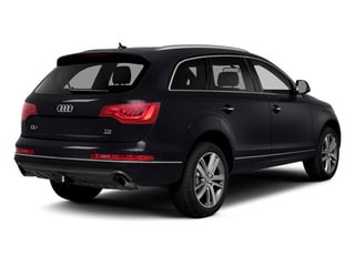 2014 Audi Q7 Pictures Q7 Utility 4D 3.0 Prestige S-Line AWD photos side rear view
