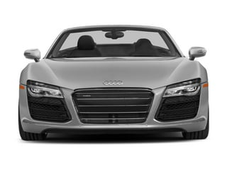 2014 Audi R8 Pictures R8 2 Door Convertible Quattro Spyder V8 (Manual) photos front view