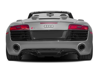 2014 Audi R8 Pictures R8 2 Door Convertible Quattro Spyder V8 (Auto) photos rear view