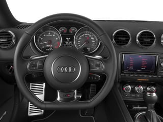 2014 Audi TTS Pictures TTS Coupe 2D AWD photos driver's dashboard