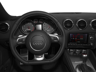 2014 Audi TTS Pictures TTS Roadster 2D AWD photos driver's dashboard