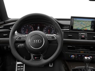 2014 Audi RS 7 Pictures RS 7 Sedan 4D Prestige AWD photos driver's dashboard
