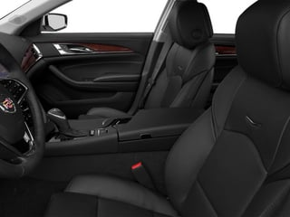 2014 Cadillac CTS Sedan Pictures CTS Sedan 4D Performance V6 photos front seat interior