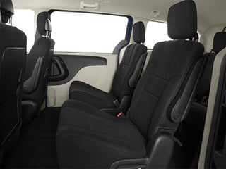 2014 Dodge Grand Caravan Pictures Grand Caravan Grand Caravan SXT V6 photos backseat interior