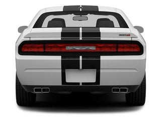 2014 Dodge Challenger Pictures Challenger Coupe 2D SRT-8 V8 photos rear view