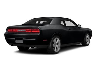 2014 Dodge Challenger Pictures Challenger Coupe 2D R/T V8 photos side rear view