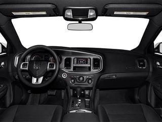 2014 Dodge Charger Pictures Charger Sedan 4D SXT V6 photos full dashboard