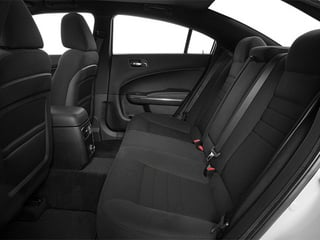 2014 Dodge Charger Pictures Charger Sedan 4D R/T V8 photos backseat interior