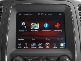 2014 Dodge Durango Pictures Durango Utility 4D Limited AWD V6 photos stereo system