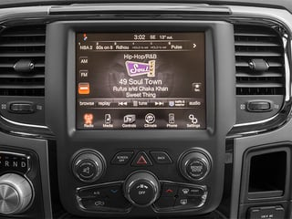 2014 Ram 1500 Pictures 1500 Quad Cab Sport 4WD photos stereo system