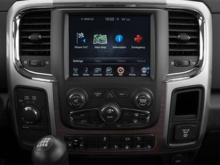 2014 Ram 3500 Pictures 3500 Mega Cab Longhorn 2WD photos stereo system