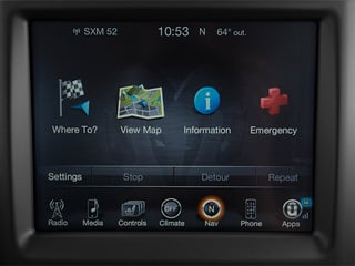 2014 Ram Truck 3500 Pictures 3500 Mega Cab Limited 2WD photos navigation system