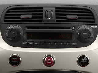 2014 FIAT 500c Pictures 500c Convertible 2D Lounge I4 photos stereo system
