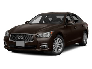 2014 INFINITI Q50 Pictures Q50 Sedan 4D Sport V6 photos side front view