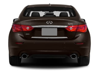 2014 INFINITI Q50 Pictures Q50 Sedan 4D Sport V6 photos rear view