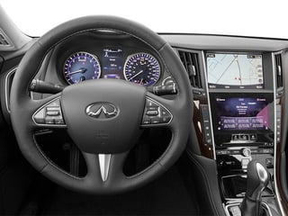 2014 INFINITI Q50 Pictures Q50 Sedan 4D Premium V6 photos driver's dashboard