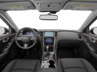 2014 INFINITI Q50 Pictures Q50 Sedan 4D Premium V6 photos full dashboard