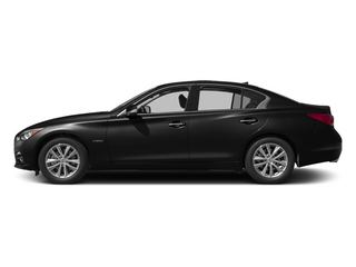 2014 INFINITI Q50 Pictures Q50 Sedan 4D Premium V6 Hybrid photos side view
