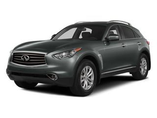 2014 INFINITI QX70 Pictures QX70 Utility 4D AWD V8 photos side front view