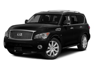 2014 INFINITI QX80 Pictures QX80 Utility 4D 2WD V8 photos side front view
