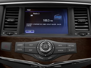 2014 INFINITI QX80 Pictures QX80 Utility 4D AWD V8 photos stereo system