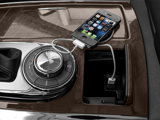 2014 INFINITI QX80 Pictures QX80 Utility 4D 2WD V8 photos iPhone Interface
