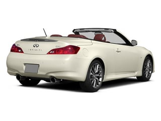 2014 INFINITI Q60 Convertible Pictures Q60 Convertible Convertible 2D IPL V6 photos side rear view