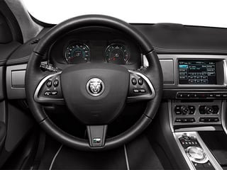 2014 Jaguar XF Pictures XF Sedan 4D XFR-S V8 Supercharged photos driver's dashboard