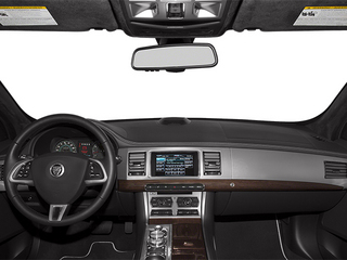 2014 Jaguar XF Pictures XF Sedan 4D V6 Supercharged photos full dashboard