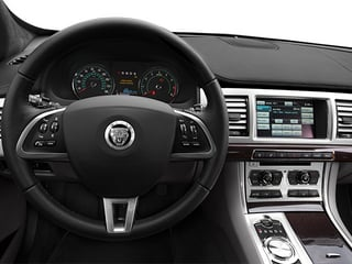 2014 Jaguar XF Pictures XF Sedan 4D V8 Supercharged photos driver's dashboard