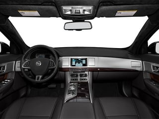 2014 Jaguar XF Pictures XF Sedan 4D V8 Supercharged photos full dashboard