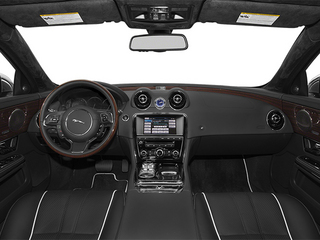 2014 Jaguar XJ Pictures XJ Sedan 4D L Portolio V6 photos full dashboard