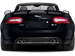 2014 Jaguar XK Pictures XK Convertible 2D XKR-S V8 Supercharged photos rear view
