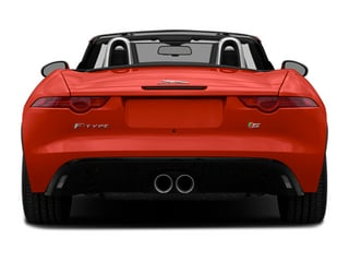 2014 Jaguar F-TYPE Pictures F-TYPE Convertible 2D S V6 photos rear view