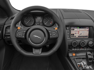 2014 Jaguar F-TYPE Pictures F-TYPE Convertible 2D S V6 photos driver's dashboard