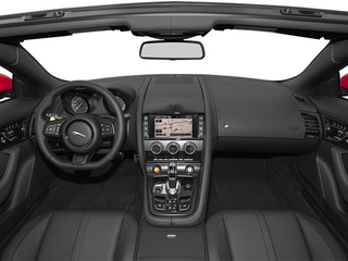 2014 Jaguar F-TYPE Pictures F-TYPE Convertible 2D S V6 photos full dashboard