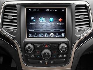 2014 Jeep Grand Cherokee Pictures Grand Cherokee Utility 4D Limited Diesel 2WD photos stereo system