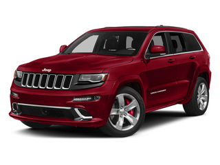2014 Jeep Grand Cherokee Pictures Grand Cherokee Utility 4D SRT-8 4WD photos side front view