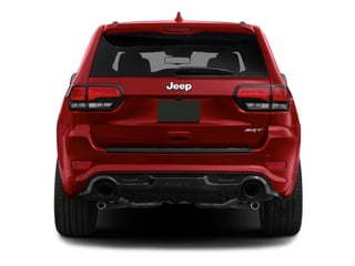 2014 Jeep Grand Cherokee Pictures Grand Cherokee Utility 4D SRT-8 4WD photos rear view